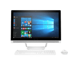 HP 24-Q254IN (Z8G07AA) (23.8 inch (60 cm), Intel 7th Gen Core i5-7400T, 8 GB DDR4 RAM, 1 TB HDD, 2 GB Graphics, Windows 10 Home) All in One Desktop