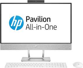 HP 24-QA175IN (4EB10AA) (23.8 inch (60 cm), Intel 8th Gen Core i7-8700T, 16 GB DDR4 RAM, 2 TB HDD, 4 GB Graphics, Windows 10) All in One Desktop