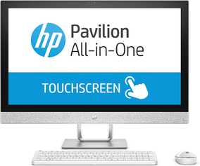 HP 27-QA179IN (4LY59AA) (27 inch (68 cm), Intel 8th Gen Core i7-8700T, 16 GB DDR4 RAM, 2 TB HDD + 128 GB SSD, 4 GB Graphics, Windows 10) All in One Desktop