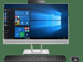 HP EliteOne 800 G4 (5LH64PA) (23.8 inch (60 cm), Intel 8th Gen Core i7-8700, 16 GB DDR4 RAM, 1 TB HDD + 128 GB SSD, 2 GB Graphics, Windows 10 Pro) All in One Desktop