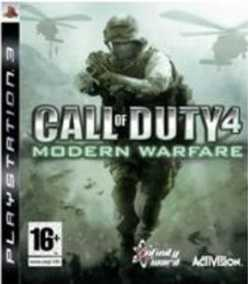 Call of Duty (COD) 4: Modern Warfare (PS3)