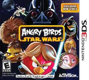 Angry Birds Star Wars - NTSC Version (Nintendo 3DS)