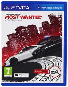 Need For Speed (NFS): Most Wanted (PS Vita)