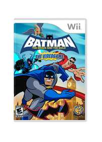 Batman: The Brave and the Bold - NTSC Version (Nintendo Wii)