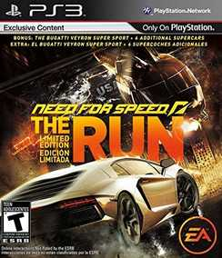 Need For Speed (NFS): The Run - Limited Edition (PS3)
