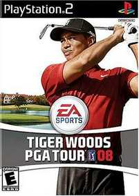 Tiger Woods PGA Tour 08 (PS2)