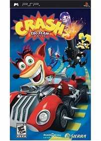 Crash Team Racing (CTR) (PSP)