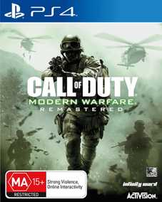 Call of Duty (COD): Modern Warfare - Remastered (PS4)