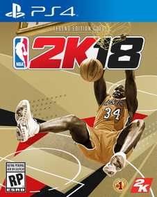 NBA 2K18 - Legend Gold Edition (PS4)