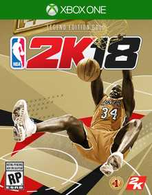 NBA 2K18 - Legend Gold Edition (Xbox One)