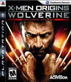 X-Men Origins : Wolverine (Uncaged Edition) (PS3)