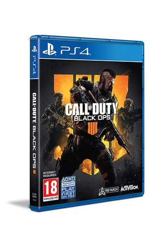 Call of Duty (COD): Black Ops IV - Standard Edition (PS4)