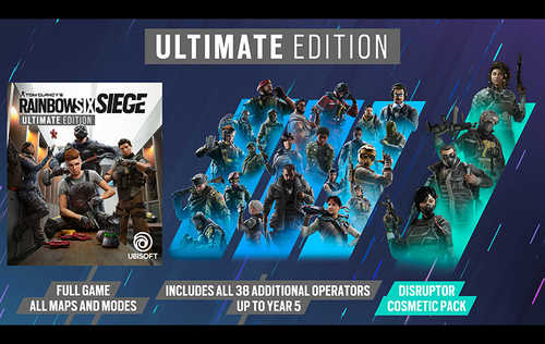 Tom Clancy's: Rainbow Six Siege - Ultimate Edition (PC)