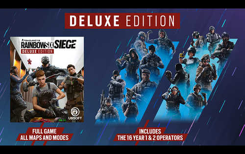 Tom Clancy's: Rainbow Six Siege - Deluxe Edition (PC)