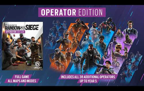 Tom Clancy's: Rainbow Six Siege - Operator Edition (PC)