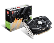 MSI GeForce GTX 1050 Ti 4 GB GDDR5 PCI Express 3.0 OC Edition V1 Graphic Card