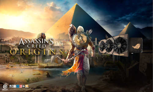 ASUS ROG Strix Geforce GTX 1080 Ti 11 GB GDDR5X PCI Express 3.0 Assassin's Creed Origins Edition Graphic Card