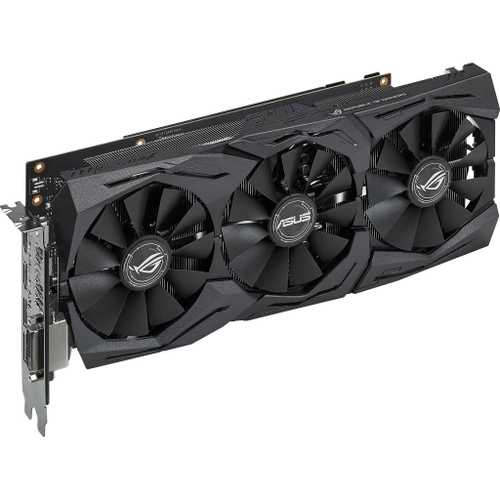 ASUS ROG Strix GeForce GTX 1060 6 GB GDDR5 PCI Express 3.0 Advance Edition with Aura Sync Gaming Graphic Card