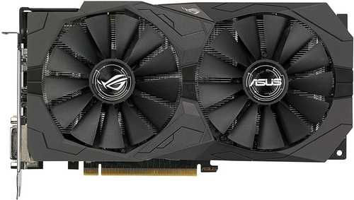 ASUS ROG Strix Radeon RX 570 4 GB GDDR5 OC Edition PCI Express 3.0 with Aura Sync Gaming Graphic Card