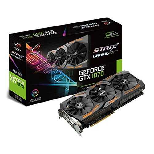ASUS ROG Strix GeForce GTX 1070 8 GB GDDR5 PCI Express 3.0 Graphic Card