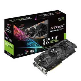 ASUS ROG Strix GeForce GTX 1070 Ti 8 GB GDDR5 PCI Express 3.0 with Aura Sync RGB Gaming Graphic Card