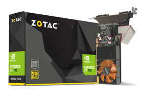 Zotac GeForce GT 710 2 GB DDR3 PCI Express Graphic Card