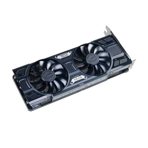 EVGA GeForce GTX 1060 6 GB GDDR5 PCI Express 3.0 FTW2 DT Gaming Graphics Card