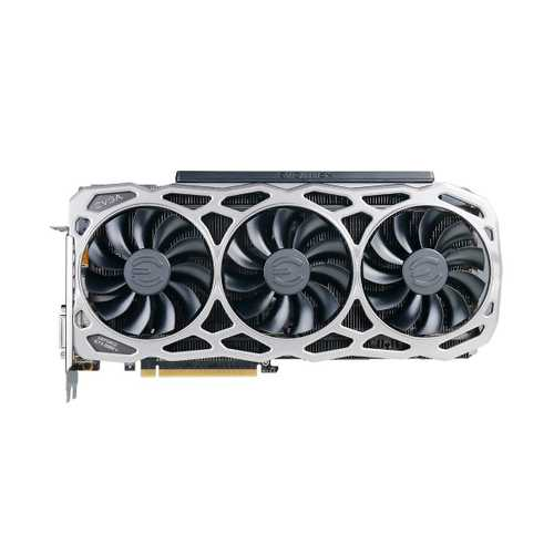 EVGA Geforce GTX 1080 Ti 11 GB GDDR5X PCI Express 3.0 FTW3 Gaming Graphics Card