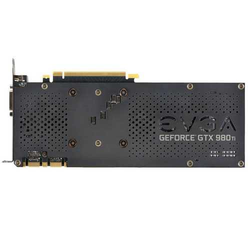 EVGA GeForce GTX 980 Ti 6 GB GDDR5 PCI Express 3.0 FTW Gaming Graphics Card