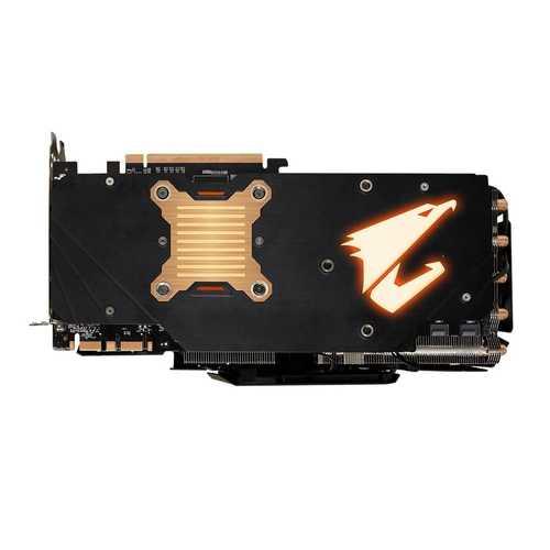 GIGABYTE Aorus Geforce GTX 1080 Ti 11 GB GDDR5X PCI Express 3.0 Xtreme Edition Graphic Card