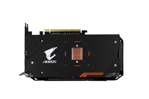 GIGABYTE Aorus Radeon RX 580 8 GB GDDR5 PCI Express 3.0 Rev 1.0 Graphic Card