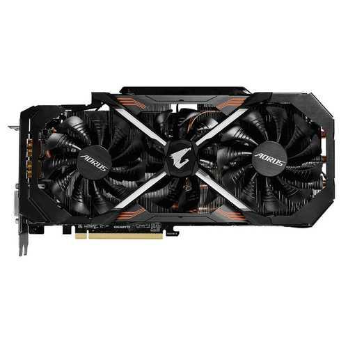 GIGABYTE Aorus GeForce GTX 1080 8 GB GDDR5X PCI Express 3.0 Xtreme Edition Rev 1.0 Graphic Card