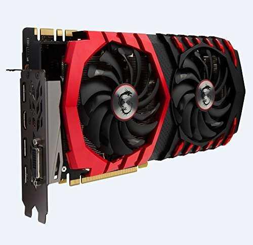 MSI GeForce GTX 1080 8 GB GDDR5X PCI Express 3.0 Gaming Z Graphic Card