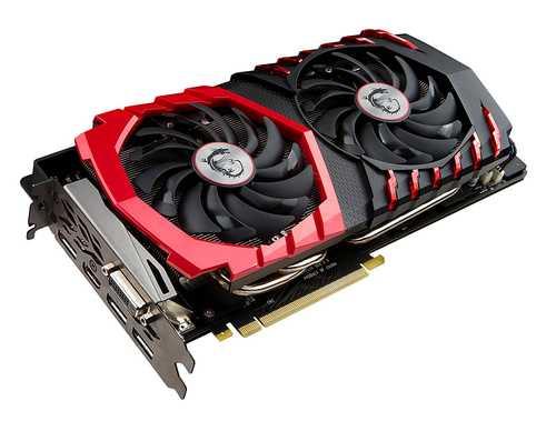 MSI GeForce GTX 1080 8 GB GDDR5X PCI Express 3.0 Gaming X Plus Graphic Card