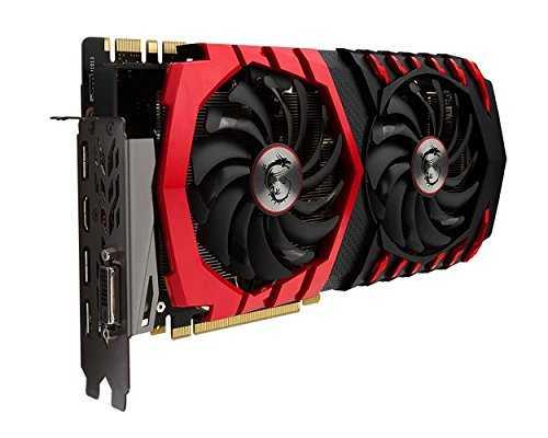MSI GeForce GTX 1080 8 GB GDDR5X PCI Express 3.0 Gaming X Graphic Card