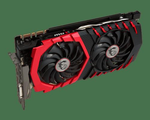 MSI GeForce GTX 1080 8 GB GDDR5X PCI Express 3.0 Gaming Plus Graphic Card