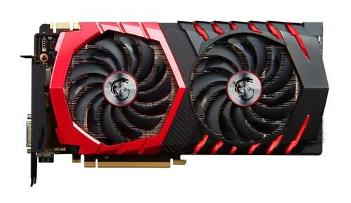 MSI GeForce GTX 1070 8 GB GDDR5 PCI Express 3.0 Gaming X Graphic Card