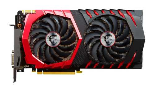 MSI GeForce GTX 1070 8 GB GDDR5 PCI Express 3.0 Gaming Graphic Card