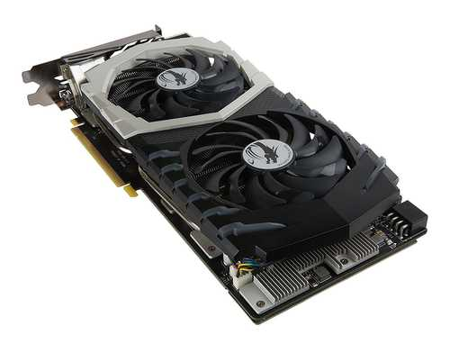 MSI GeForce GTX 1070 8 GB GDDR5 PCI Express 3.0 Quick Silver OC Edition Graphic Card