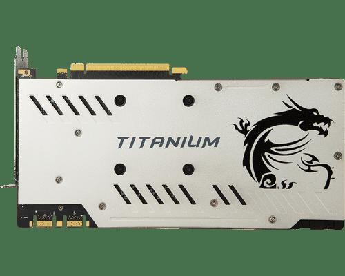 MSI GeForce GTX 1070 Ti 8 GB GDDR5 PCI Express 3.0 Titanium Graphic Card