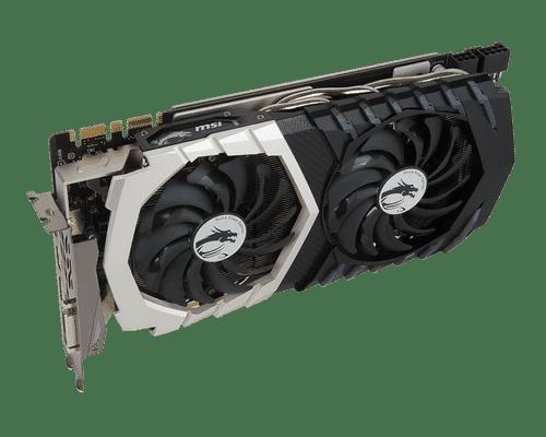 MSI GeForce GTX 1070 8 GB GDDR5 PCI Express 3.0 Quick Silver Graphic Card
