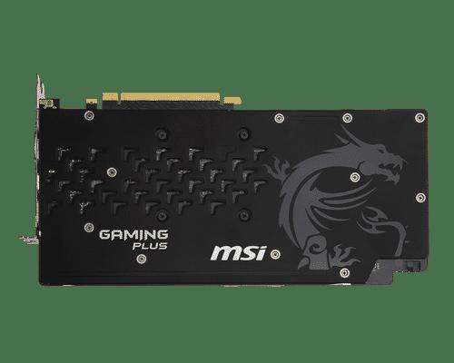 MSI GeForce GTX 1060 6 GB GDDR5 PCI Express 3.0 Gaming X Plus Graphic Card