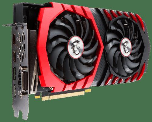 MSI GeForce GTX 1060 6 GB GDDR5 PCI Express 3.0 Gaming VR X Graphic Card