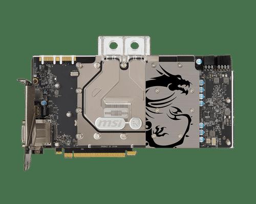 MSI GeForce GTX 1080 8 GB GDDR5X PCI Express 3.0 Sea Hawk EK X Graphic Card
