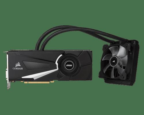 MSI GeForce GTX 1070 8 GB GDDR5 PCI Express 3.0 Sea Hawk X Graphic Card