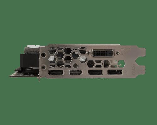 MSI GeForce GTX 1080 8 GB GDDR5X PCI Express 3.0 Armor Graphic Card
