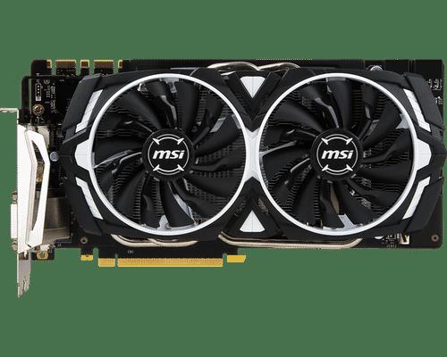 MSI GeForce GTX 1070 Ti 8 GB GDDR5 PCI Express 3.0 Armor Graphic Card