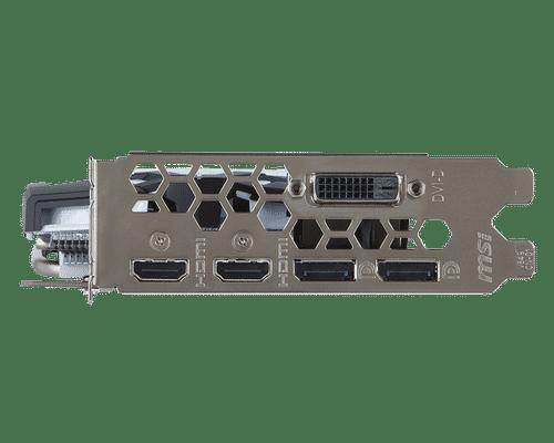MSI GeForce GTX 1060 6 GB GDDR5 PCI Express 3.0 Armor V1 Graphic Card