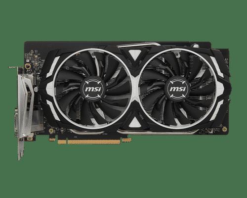 MSI GeForce GTX 1060 6 GB GDDR5 PCI Express 3.0 Armor OC Edition Graphic Card