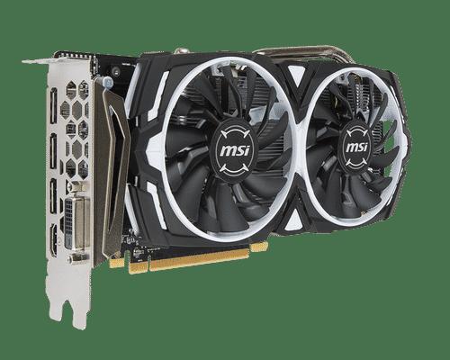 MSI Radeon RX 470 8 GB GDDR5 PCI Express 3.0 Armor OC Edition Graphic Card